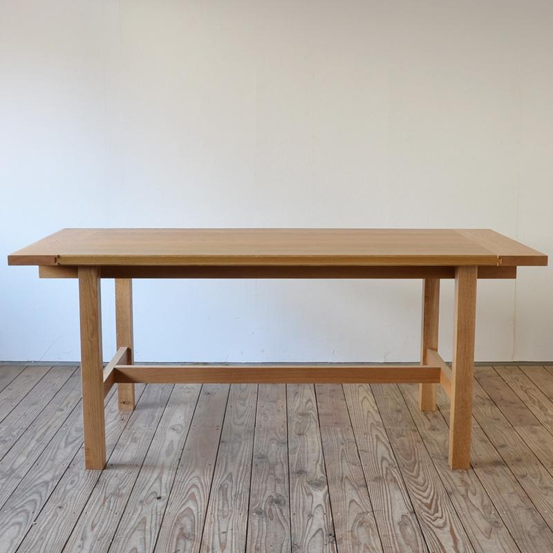 【 送料無料 】 ワークテーブル Work Table Solid 幅 170cm 奥行き 80cm 高さ 72cm オーク | テーブル ダイニングテーブル ワークテーブル 作業テーブル 作業台 無垢 無垢材 シンプル ナチュラル 北欧 おしゃれ 天板 家具 インテリア 木製 ダイニング 大型 大型家具