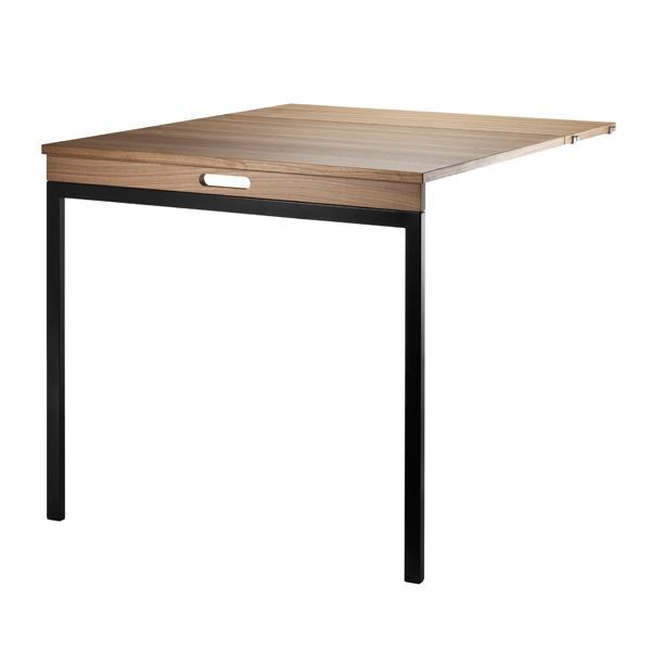 stringシェルフシステム フォールディングテーブル ウォルナット/ブラック