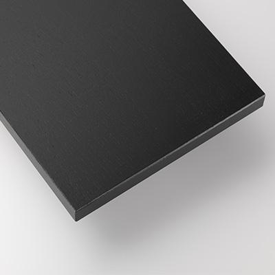 String シェルフ 棚板 58×30cm (3枚セット) ブラック ステインドアッシュ | ストリング 飾り棚 壁掛け 壁付け 棚 黒 ウォールシェルフ インテリア おしゃれ お洒落 家具 北欧 北欧家具 ラック 収納 リビング 組み立て