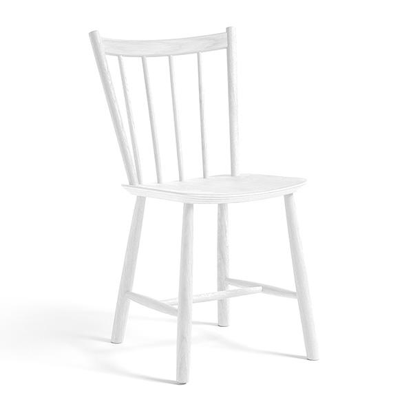 【 送料無料 】 HAY (ヘイ) ダイニングチェア J41 ホワイト | チェア 椅子 スポークチェア ダイニング 北欧家具 インテリア ナチュラル ビーチ材 白 ボーエモーエンセン FDB シンプル おしゃれ 北欧