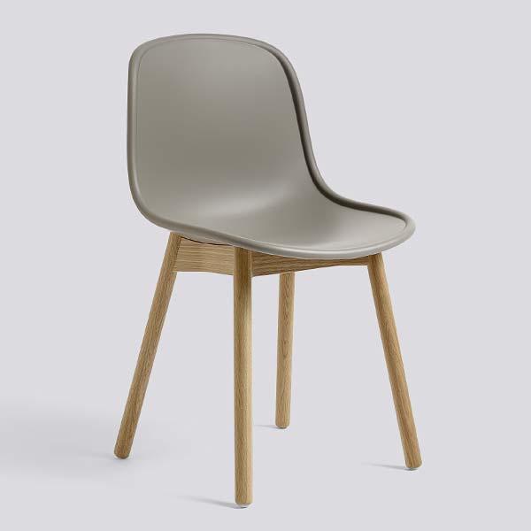 【 送料無料 】 HAY (ヘイ) ダイニングチェア NEU13 マッド グレー ラッカー仕上げ | チェア 椅子 ダイニング 北欧家具 インテリア ナチュラル オーク オーク材 シンプル おしゃれ デンマーク 北欧