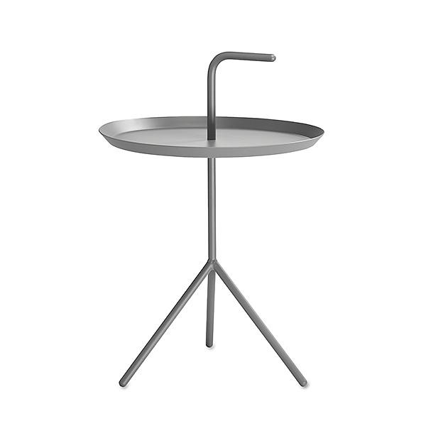 【 送料無料 】 HAY (ヘイ) サイドテーブル DLM SIDE TABLE グレー パウダー仕上げ | テーブル リビングテーブル コーヒーテーブル リビング ダイニング 北欧家具 インテリア スチール インダストリアル シンプル おしゃれ デンマーク 北欧