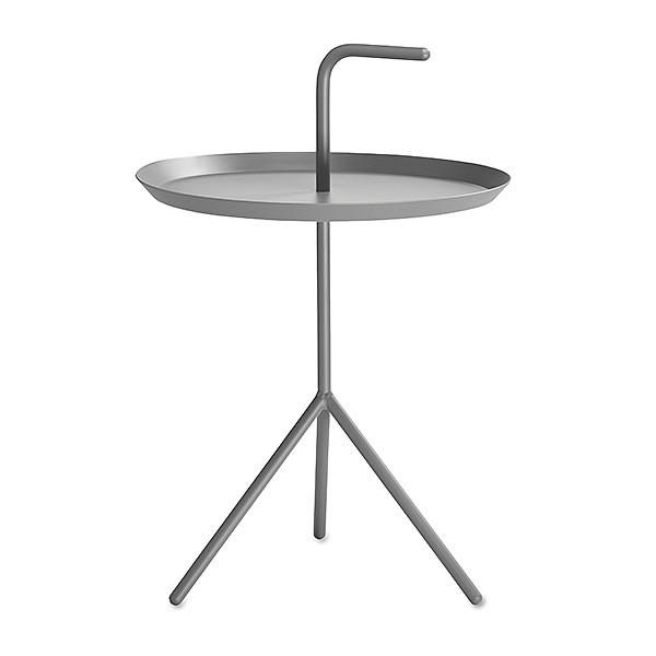 【 送料無料 】 HAY (ヘイ) サイドテーブル DLM SIDE TABLE XL グレー パウダー仕上げ | テーブル リビングテーブル コーヒーテーブル リビング ダイニング 北欧家具 インテリア スチール インダストリアル シンプル おしゃれ デンマーク 北欧
