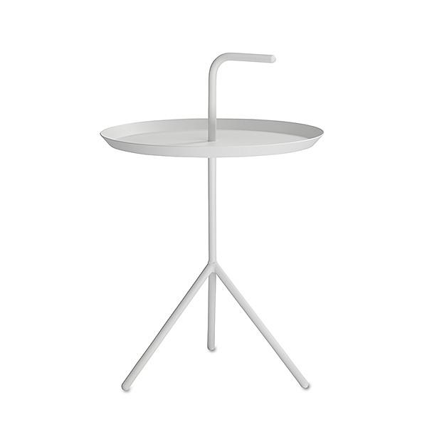 【 送料無料 】 HAY (ヘイ) サイドテーブル DLM SIDE TABLE ホワイト パウダー仕上げ φ380mm | テーブル リビングテーブル コーヒーテーブル リビング ダイニング 北欧家具 インテリア スチール 白 インダストリアル シンプル おしゃれ デンマーク 北欧
