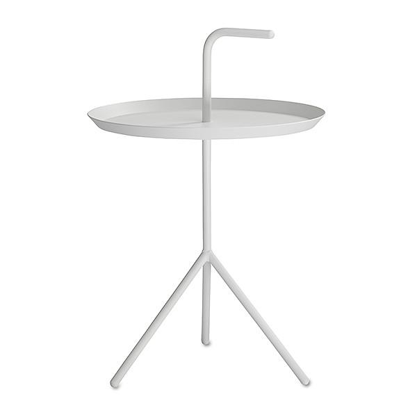 【 送料無料 】 HAY (ヘイ) サイドテーブル DLM SIDE TABLE XL ホワイト パウダー仕上げ | テーブル リビングテーブル コーヒーテーブル リビング ダイニング 北欧家具 インテリア スチール 白 インダストリアル シンプル おしゃれ デンマーク 北欧