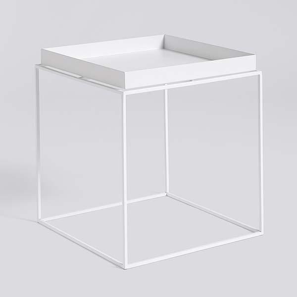 【 送料無料 】 HAY (ヘイ) トレイテーブル Mサイズ ホワイト | TRAY TABLE テーブル サイドテーブル リビングテーブル コーヒーテーブル リビング 北欧家具 M 白 インテリア ナチュラル シンプル おしゃれ 北欧