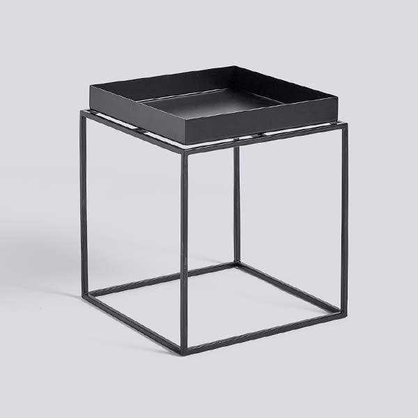 【 送料無料 】 HAY (ヘイ) トレイテーブル Sサイズ ブラック | TRAY TABLE テーブル サイドテーブル リビングテーブル コーヒーテーブル リビング 北欧家具 S 黒 インテリア ナチュラル シンプル おしゃれ 北欧