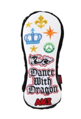 Dance With Dragon AM&EコラボHC 2 (UT) D3-739012 ダンスウィズドラゴン エーエムアンドイー コラボ ヘッドカバー ユーティリティ ゴルフ