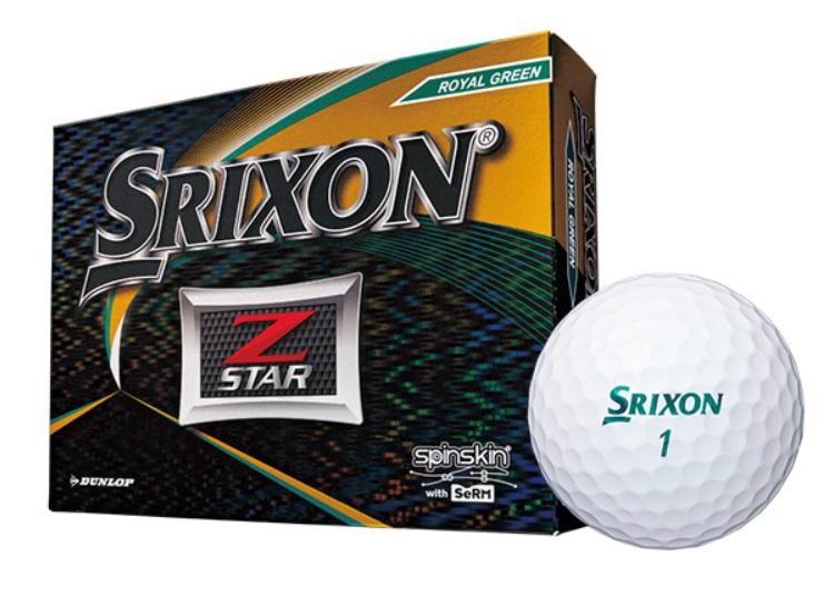 【送料無料】DUNLOP SRIXON Z-STAR 2019 ROYAL GREEN ダンロップ スリクソン ゼットスター ロイヤルグリーン 2ダースパック 24球 ボール