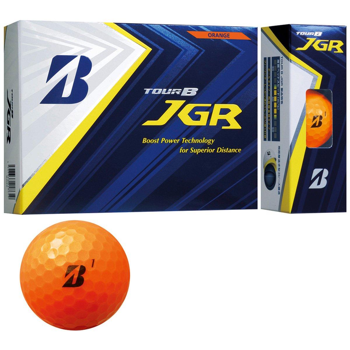 BRIDGESTONE TOUR B JGR ORANGE 8JOX ブリヂストン ツアービー ジェイジーアール オレンジ 2ダースパック 24球 ボール ゴルフ 送料無料 平成最後 令和 新生活