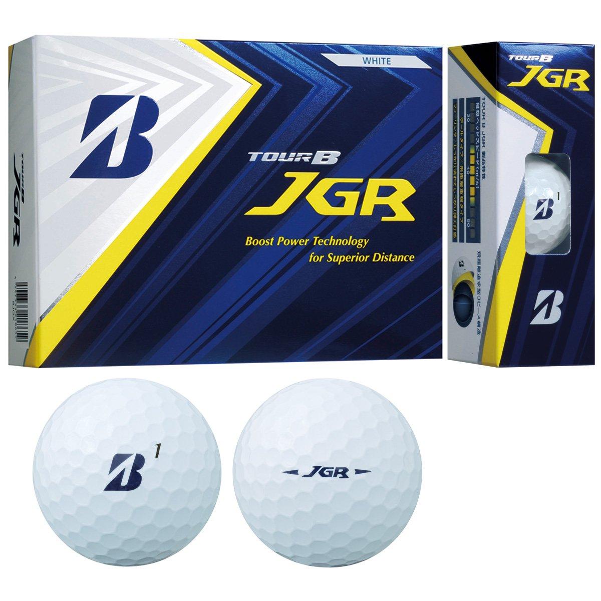 BRIDGESTONE TOUR B JGR WHITE 8JWX ブリヂストン ツアービー ジェイジーアール ホワイト 2ダースパック 24球 ボール ゴルフ 送料無料 平成最後 令和 新生活