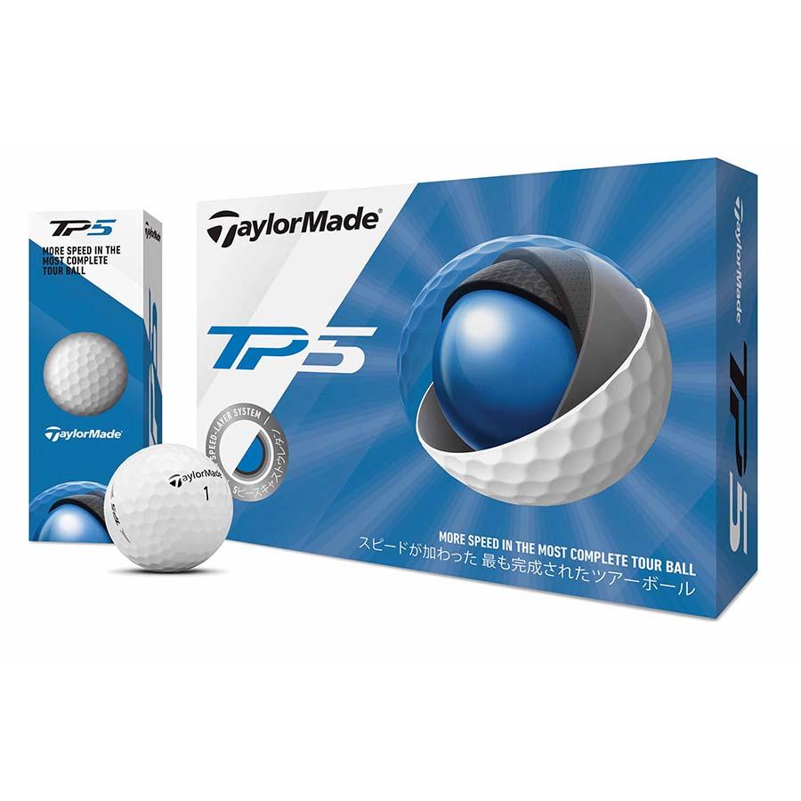 TaylorMade Golf TP5 M7152801 テーラーメイド ティーピーファイブ ボール 2ダースパック 24球 ゴルフ 送料無料 平成最後 令和 新生活