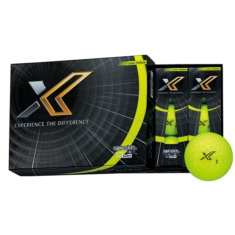 【送料無料】ゼクシオ エックス イエロー 2ダースパック ゴルフボール XXIO X YELLOW DUNLOP ダンロップ