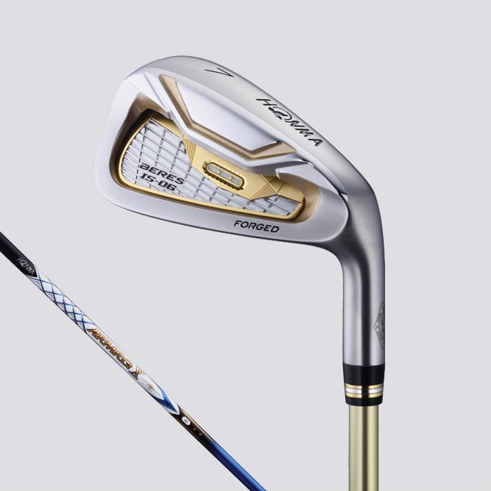 本間ゴルフ ベレス IS-06 アイアンセット 6本組 (#6~#11) ホンマ HONMA Beres ARMRQ X52 シャフトグレード 4S