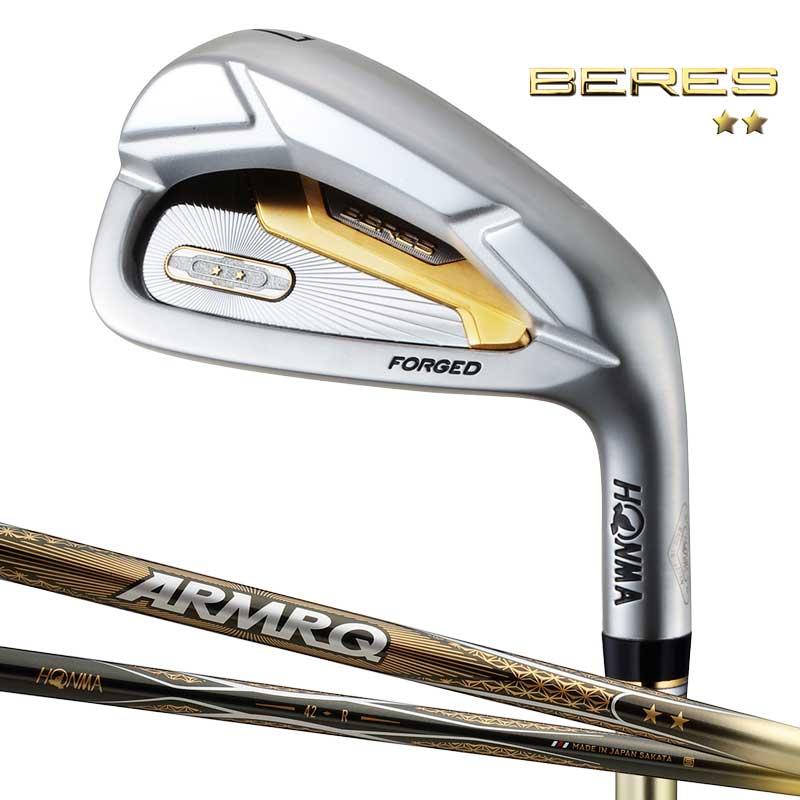 本間ゴルフ ベレス アイアン6本セット(#6~#11) 2Sグレード ARMRQ 47 2S 標準シャフト HONMA BERES Iron ゴルフ クラブ ホンマ 2019年モデル