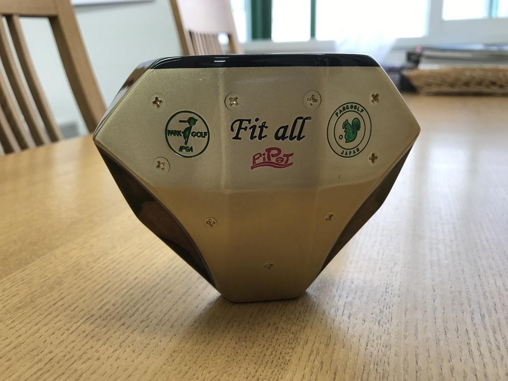 ピポット フィットオール パークゴルフクラブ Pipot Fit all 沖縄産「赤木」ヘッド オンリーワンクラブ 85cm 530g 高級