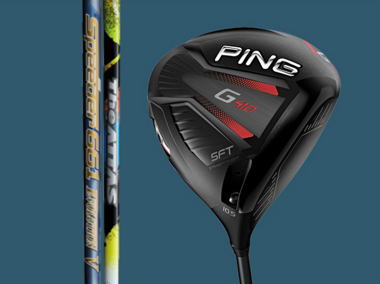 PING G410 SFT DRIVER ピン ドライバー The ATTAS、Speeder EVOLUTION V