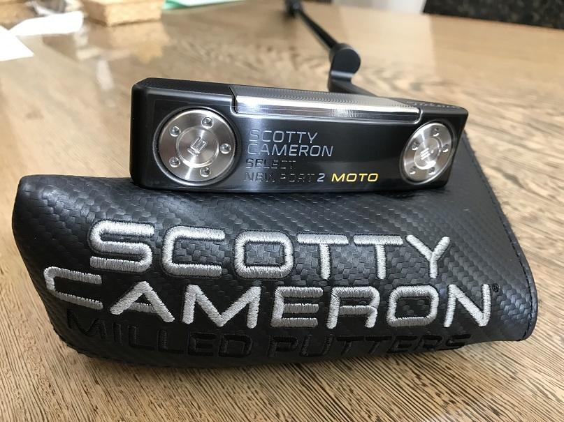 ScottyCameron 2017NEWPORT2 MOTO PLUS BLACK 34 スコッティキャメロン ニューポート2 モトプラス ブラック パター ゴルフ