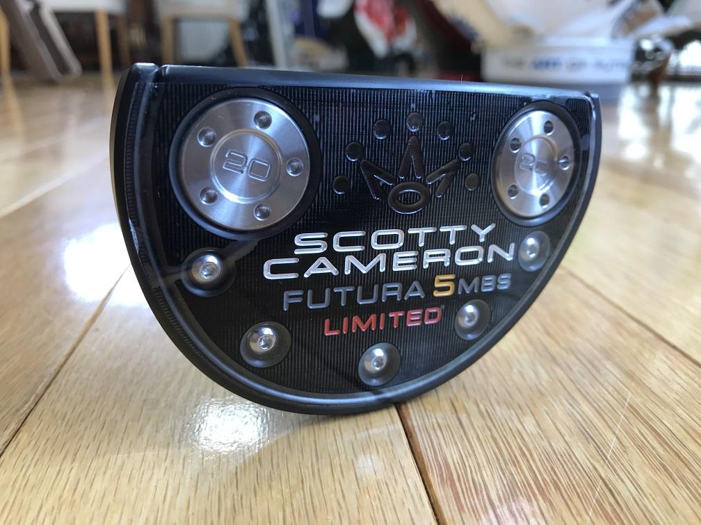 ScottyCameron FUTURA 5MBS LIMITED USA 34 スコッティキャメロン フューチュラ リミテッド ユーエスエー 34インチ パター ゴルフ