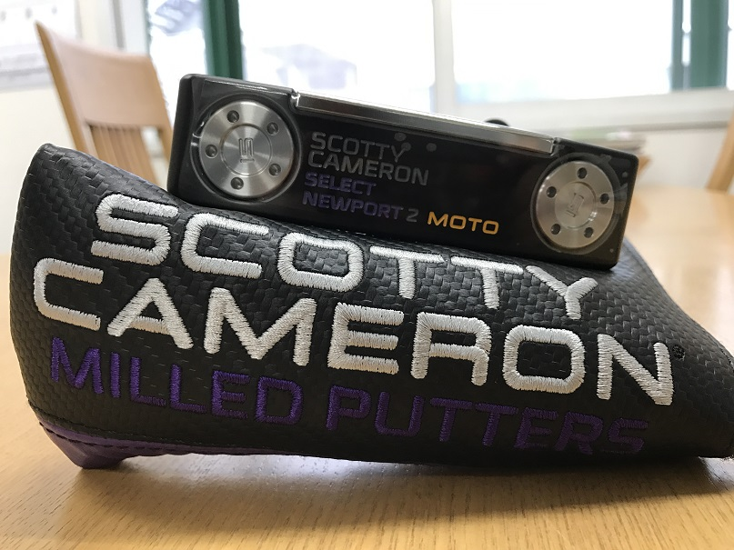 ScottyCameron 2017 NEWPORT2 MOTO PLUS PURPLE 34 スコッティキャメロン ニューポート2 モトプラス パープル 34インチ パター ゴルフ