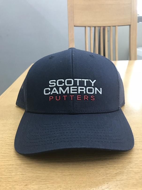 698349ca9d1 greenjacket  ScottyCameron STACKED SNAP BACK NAVY Scottie Cameron ...