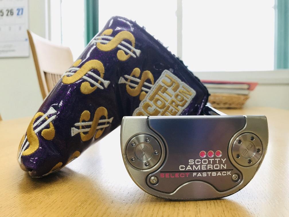 スコッティキャメロン 2018 ファストバック セレクト モト ScottyCameron 2018 FASTBACK SELECT MOTO PUTTER パター ゴルフ 33インチ MAT PINK ピンク レディース ウィメンズ