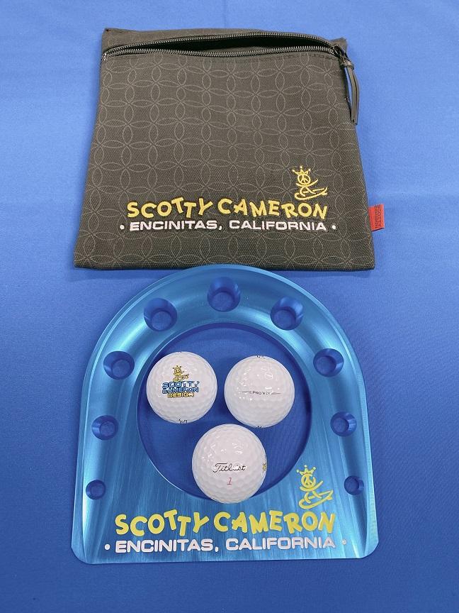スコッティキャメロン ピースサーファー パッティングカップ キット ScottyCameron PEACE SURFER PUTTING CUP KIT ゴルフ 小物 アクセサリー 練習 パター