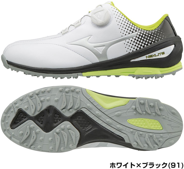 1d889c08daf1 ... Mizuno NEXLITE 004 Boa 51GM1720 men shoes Mizuno NCXX light boa golf ...