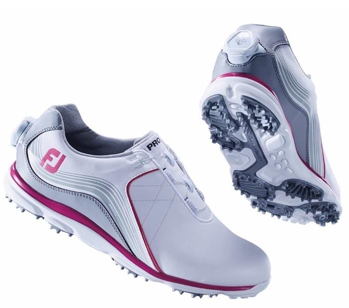 フットジョイ プロエスエル ボア フォー ウィメンズ ホワイトグレーピンク FOOTJOY PRO/SL Boa for Womens 98109 ゴルフ シューズ スパイクレス レディース