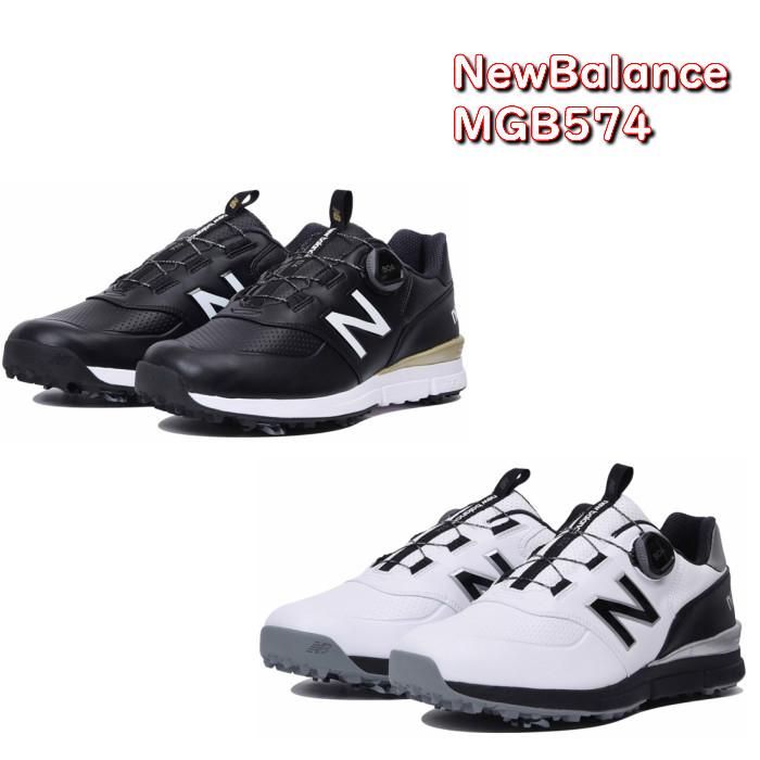 new balance ニューバランス スパイクシューズ MGB574 ゴルフシューズ MGB574B2 MGB574W2