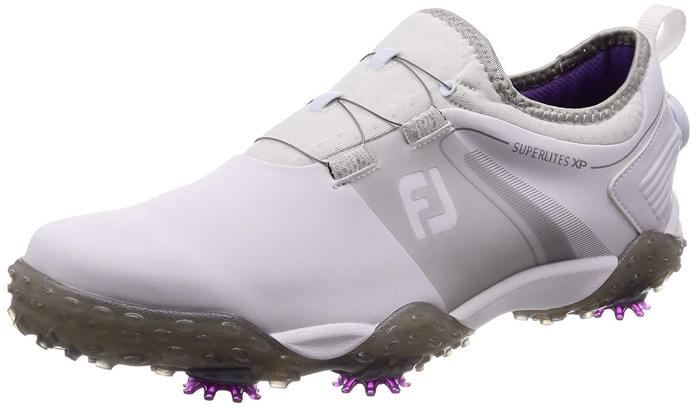 フットジョイ スーパーライト XP ボア FOOTJOY SUPERLITES XP Boa 58067J ホワイトグレー ゴルフシューズ 靴