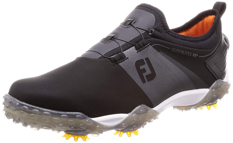 フットジョイ スーパーライト XP ボア FOOTJOY SUPERLITES XP Boa 58070J ブラック ゴルフシューズ 靴