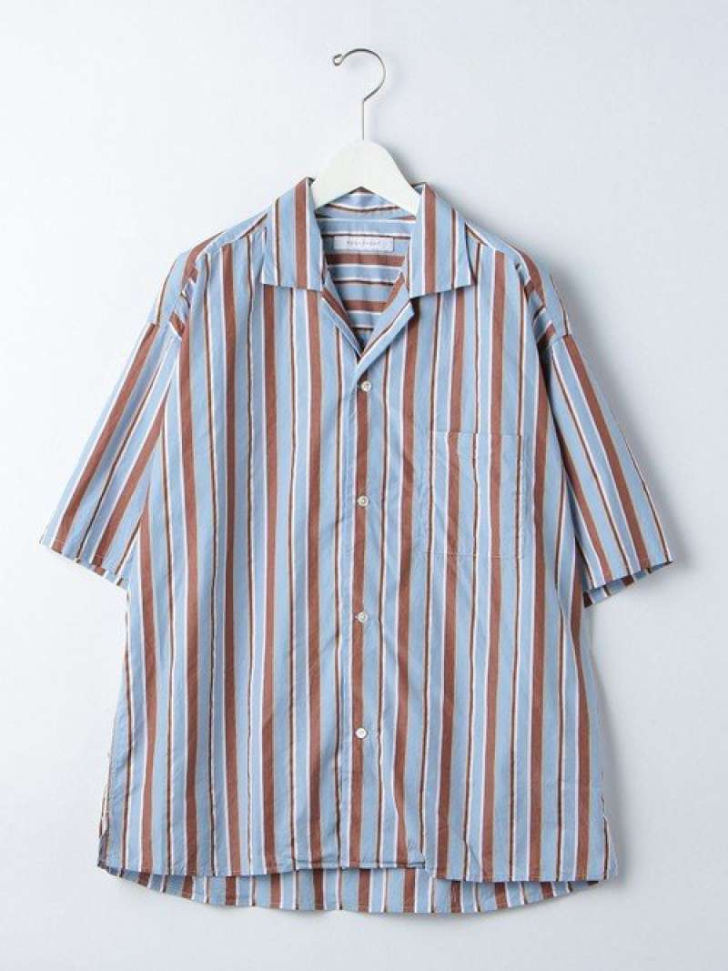 [Rakuten Fashion]『BRACTMENT(ブラクトメント)』サテンマルチストライプルーズオープンシャツ UNITED ARROWS green label relaxing ユナイテッドアローズ グリーンレーベルリラクシング シャツ/ブラウス 長袖シャツ【送料無料】