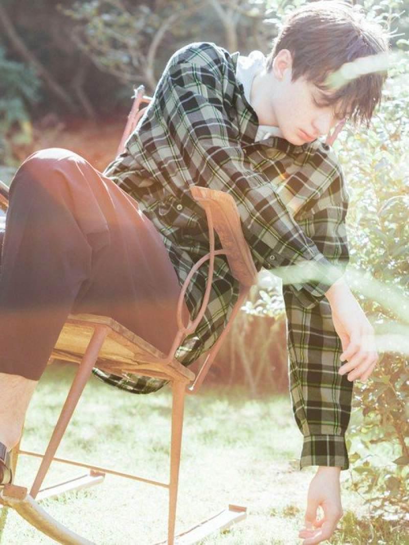 [Rakuten Fashion]『BRACTMENT(ブラクトメント)』ネオンチェックルーズワイドシャツ UNITED ARROWS green label relaxing ユナイテッドアローズ グリーンレーベルリラクシング シャツ/ブラウス 長袖シャツ ネイビー 【送料無料】