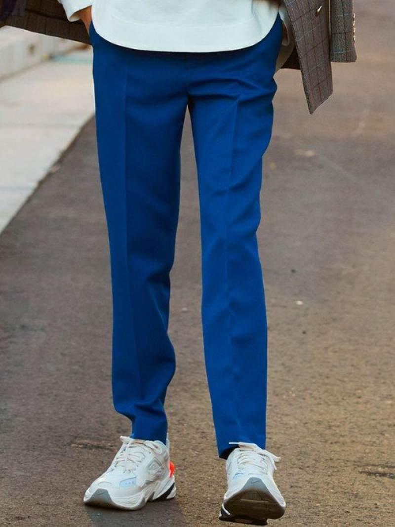 [Rakuten Fashion]『BRACTMENT(ブラクトメント)』プレストスラックスパンツ UNITED ARROWS green label relaxing ユナイテッドアローズ グリーンレーベルリラクシング パンツ/ジーンズ フルレングス ネイビー ブラッ【送料無料】