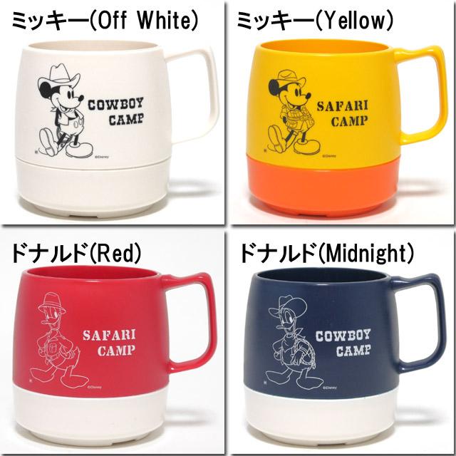 dainekkusu DINEX古典啤酒杯茶杯迪士尼印刷米奇&唐纳德CLASSIC MAGCUP