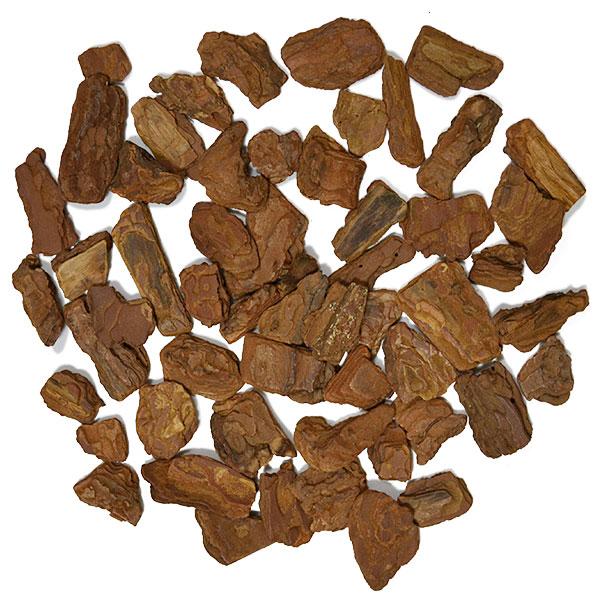 根元にナチュラル感を出すマルチング材 天然素材のバークチップ お徳用 バークチップSサイズ 3~4cm前後 50リットル入り お気にいる 合計敷き詰め面積:175cm×175cm程度 防腐剤不使用 マルチング材 ウッドチップ バーク バークチップス 時間指定不可 インテリアバーク 木のくず