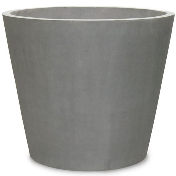 植木鉢 マグナス コニック 68型 全高60cm×直径68cm ファイバー強化ポリストーン製 底穴あり プランター ポット 鉢 園芸 ガーデニング