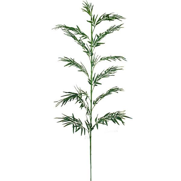 人工観葉植物 竹 全長210cm ジョイント式 たけ タケ 笹の葉 バンブー 造花 人工樹木 リーフ 花材 葉材 グリーン材 フラワーアレンジメント ディスプレイ 装飾 和風 お正月 お祝い 旅館 料亭演出