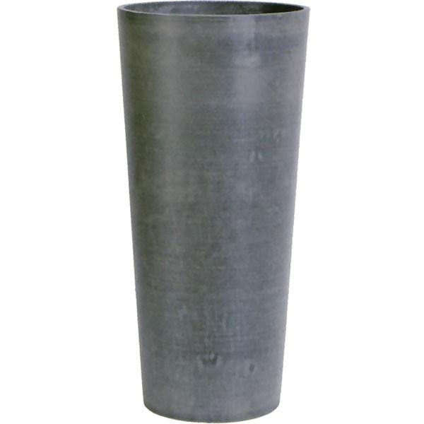 鉢カバー GS16-32CM グレー 8号用 全高70cm×直径32.5cm 底穴なし PP ポリプロピレン 石粉 木粉 プランター ポット 観葉鉢 園芸 寄せ植え