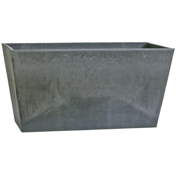 鉢カバー GS21-80CM グレー 全高41.5cm×幅79.5cm 底穴なし PP ポリプロピレン 石粉 木粉 プランター ポット コンテナ 観葉鉢 園芸 寄せ植え