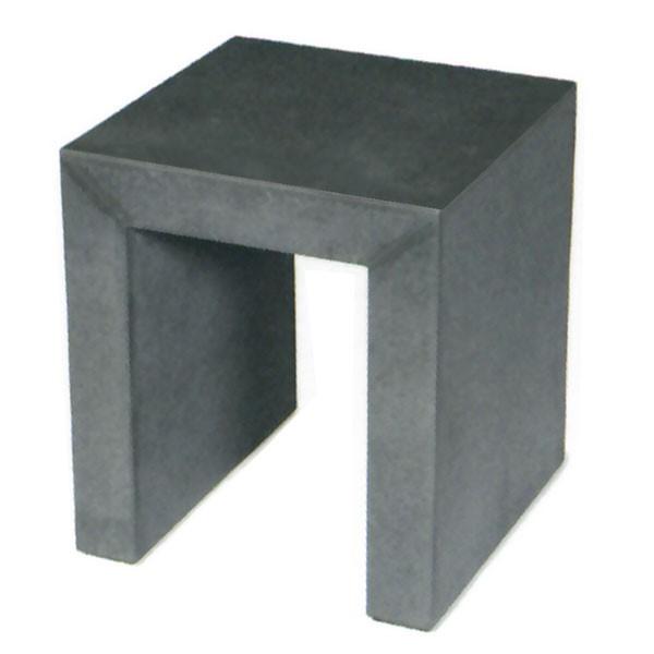 屋外対応・ASH・アッシュ・モノクローム・スツール・40型(全高45cm×口40cm)(繊維強化セメントボード)(チェア/椅子/いす)(ガーデンファーニチャー)