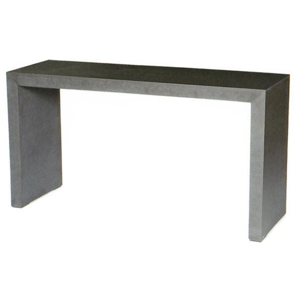 屋外対応 ASH アッシュ モノクローム ハイテーブル 150型 全高80cm×幅150cm 繊維強化セメントボード 机 デスク ガーデンファーニチャー