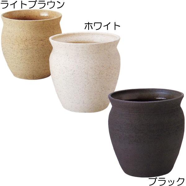 鉢カバー 信楽焼 陶器製 10号用 全高39cm×直径39cm 鉢 植木鉢 花器 底穴なし 観葉植物用 国産品 日本製