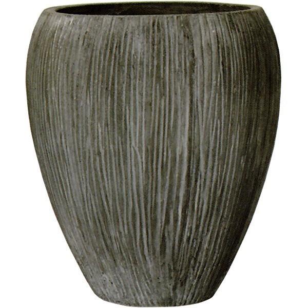 軽量化されたコンクリートポット。重厚な趣の植木鉢  植木鉢 コーテス ジャー チゼル 64型 19号 全高64cm×直径57cm 底穴あり セメント コンクリート ファイバーグラス FRP プランター ポット