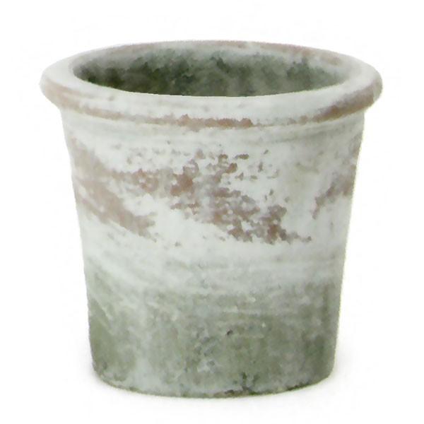 植木鉢 テラコッタ ビンテージポット トレーズA 12個セット 4号 全高12.5cm×直径13.5cm 底穴あり 陶器鉢 プランター 園芸 ガーデニング