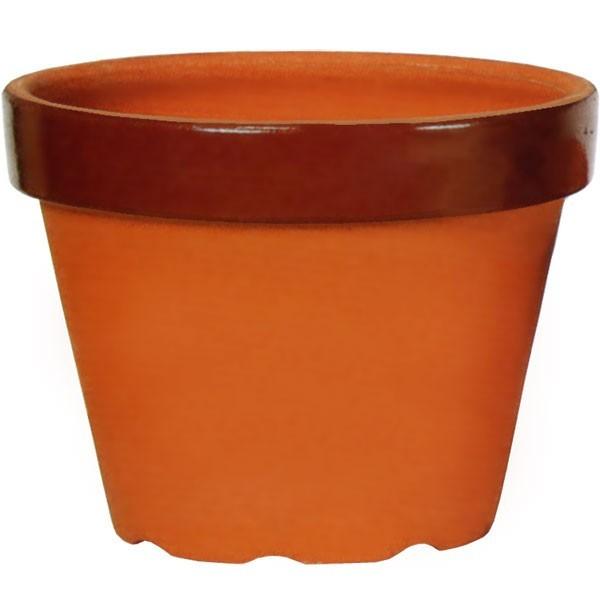 【日本製】 植木鉢 信楽焼 15号 全高36cm×直径47cm 底穴あり しがらきやき 国産品 陶器製 素焼き プランター ポット 器 園芸