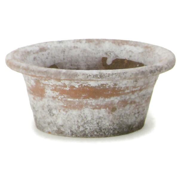 植木鉢 テラコッタ ビンテージポット シスA 8個セット 7号 全高9cm×直径21cm 底穴あり 陶器鉢 プランター 園芸 ガーデニング