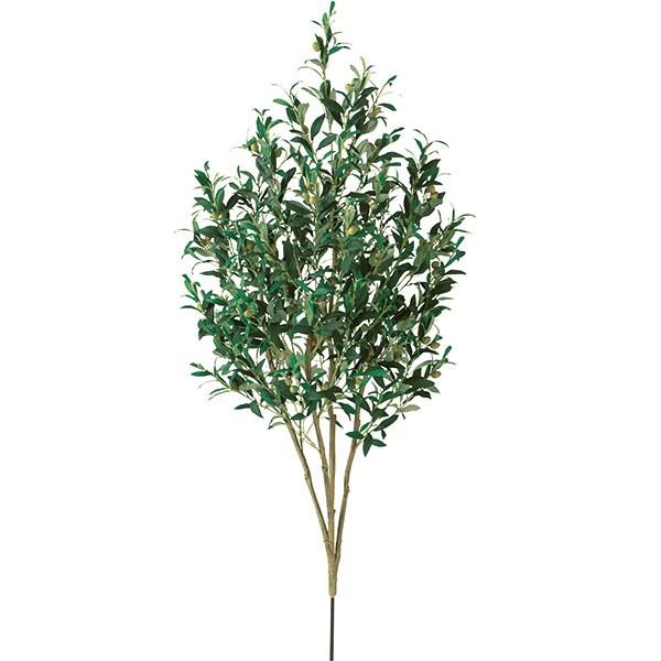 人工観葉植物 オリーブの枝 L 全長135cm 人工樹木 造花 リーフ 葉材 フェイクグリーン ライプオリーブ オレイフ FSTブランチ ディスプレイ 装飾