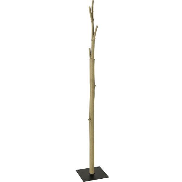 【大型樹木を簡単 自在に製作】 全長175cm 4ケ所差し込み穴あり ツリー ログ FST専用 人工樹木幹 ベース口25cm スタンド付き枝 ディスプレイ 装飾